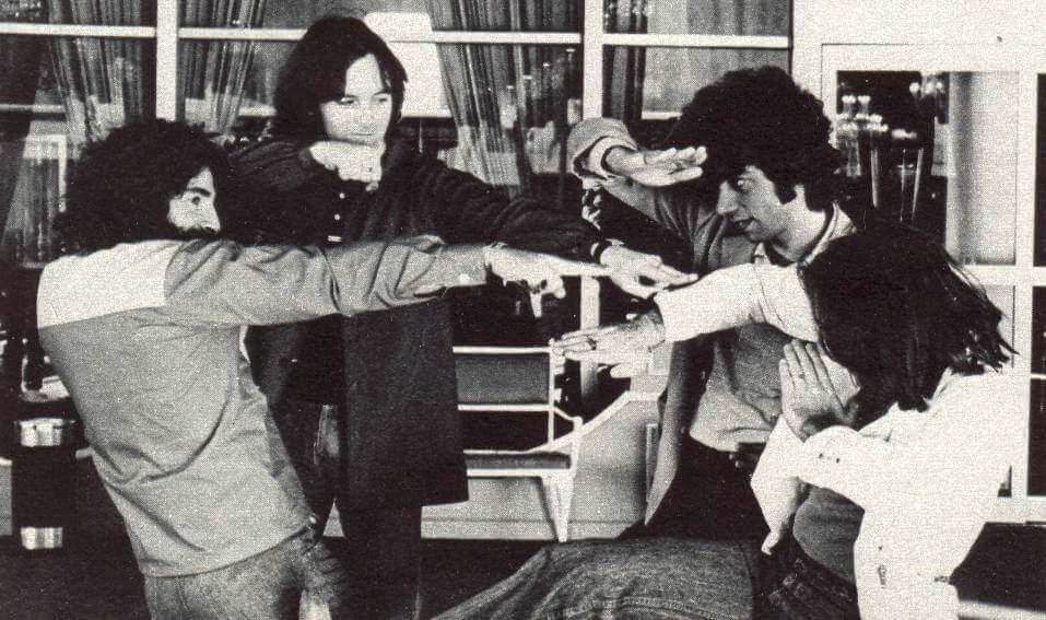 The band with no image or gimmick, Kung Fu fighting in 1975