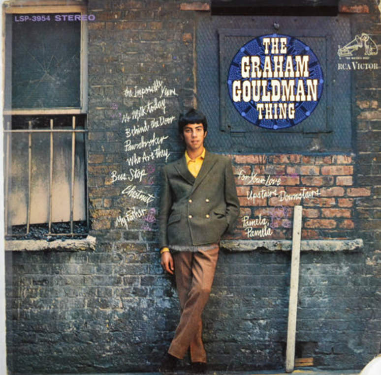 Graham Gouldman's debut solo album, 1968